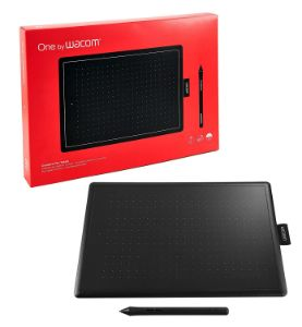 Picture of WACOM One By CTL-672/K0-CX 8.5 x 5.3 inch Graphics Tablet