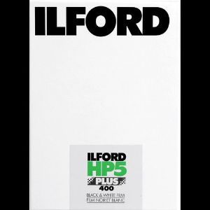 """Picture of Ilford HP5 Plus Black and White Negative Film (4 x 5"""", 25 Sheets)"""