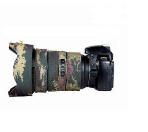 Picture of Coat For Nikon AF-S FX Nikkor 24-70 mm f/2.8E ED (MOTTLED WOOD GREEN)