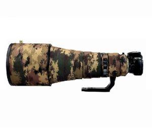 Picture of Coat For AF-S NIKKOR 200-500mm f/5.6E ED VR (Mottled Wood Green)