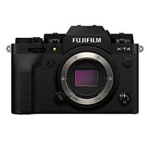 Picture of FUJIFILM X-T4 Mirrorless Digital Camera (Body Only, Black)