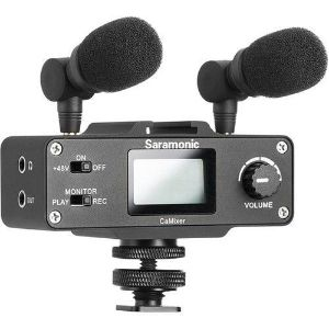 Picture of Saramonic CaMixer Stereo Condenser Microphone Kit