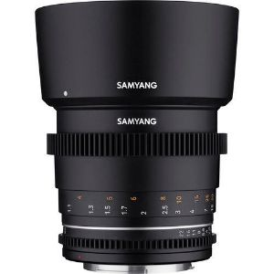 Picture of Samyang Brand Photography MF Lens 85MM T1.5 VDSLR MK2 Canon