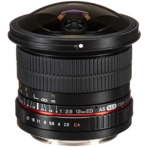 Picture of Samyang MF 12MM F2.8 Lens for Canon EF