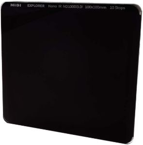 Picture of NiSi Explorer Collection 100x100mm ND1000 (3.0) – 10 Stop Nano IR Neutral Density filter