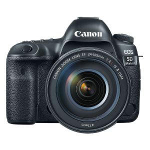 Picture of Canon EOS 5D Mark IV DSLR Camera with 24-105mm f/4L II Lens